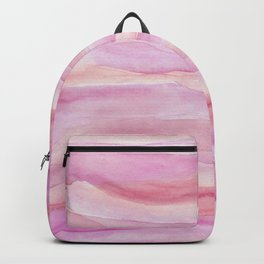 Pink Layers Watercolor Backpack
