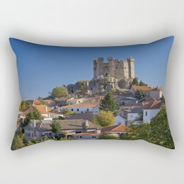 The medieval castle of Penedono, Portugal Rectangular Pillow