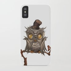 It surely was a hoot! iPhone X Slim Case