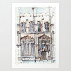 Oxford: Old Bodliean Art Print