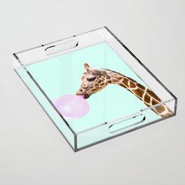 GIRAFFE Acrylic Tray