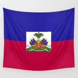 Haiti flag emblem Wall Tapestry