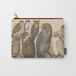 Naturalist Owls Carry-All Pouch