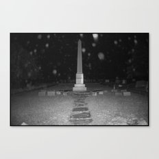 Dramatic Obelisk Canvas Print