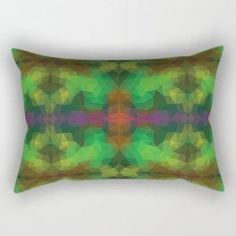 Kaleidoscopic design in bright colors Rectangular Pillow