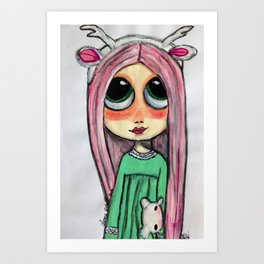 my doll Art Print