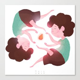 Domadores de Coxinha! Canvas Print