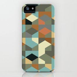 Abstract Geometric Artwork 57 iPhone Case