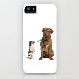 It's walking time iPhone Case