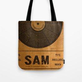 Sam the Record Man Vintage Tote Bag