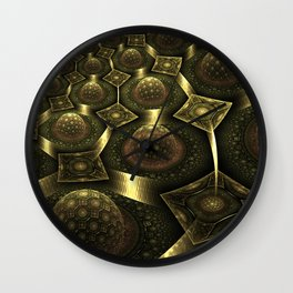 Magnetic fields Wall Clock