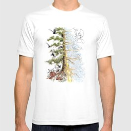 The Woods and The Water T-shirt