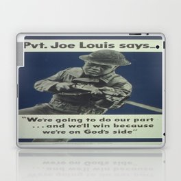 Vintage poster - Private Joe Louis Laptop & iPad Skin