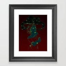 Fluid Framed Art Print