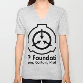 SCP Foundation Hoodie Unisex V-Neck
