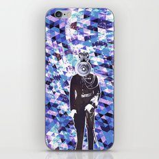 General Gears on blue iPhone & iPod Skin