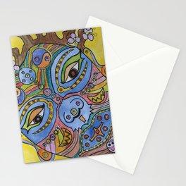 Plum Blossom Lady Stationery Cards