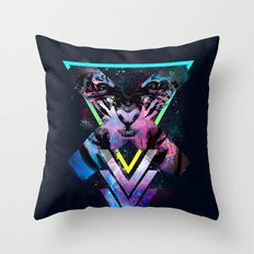 CODE X Throw Pillow