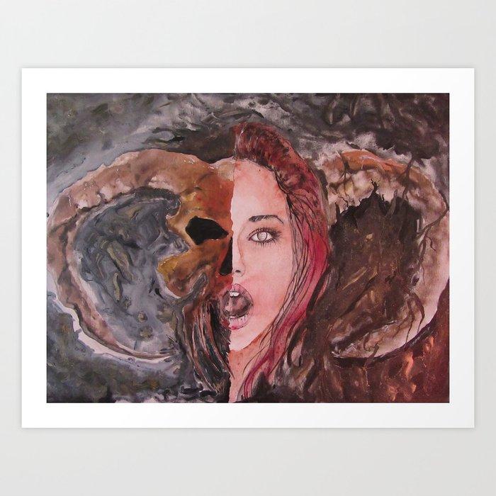 Lucifera Art Print