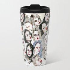 Sky Ferreira Collage Travel Mug