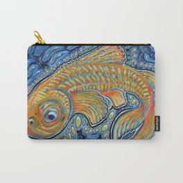 Lucky Fish Carry-All Pouch