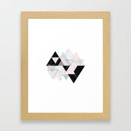 TileGlam Framed Art Print