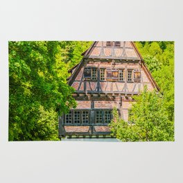 Klosterhof Blaubeueren ( Half-timbered House ) Rug