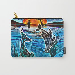 Whales Tale Carry-All Pouch