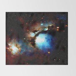 Galaxy Nebula : Messier 78 Throw Blanket
