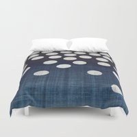indigo Duvet Covers featuring Indigo by Good Sense