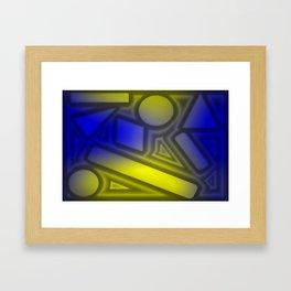 Dimmed light Framed Art Print