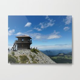 Mountain lookout Metal Print