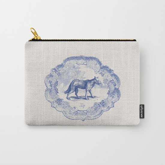 DelftWare Wolf Carry-All Pouch