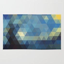 Starry Night Mosaic Rug