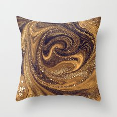 MOLTEN CORE Throw Pillow