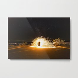 Peaceful Violence Metal Print