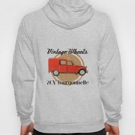 Vintage Wheels: Citroën 2CV Fourgonnette Hoody