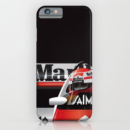 Niki Lauda, McLaren MP4/2 TAG Porsche, 1984 iPhone & iPod Case
