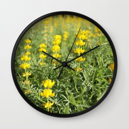 Flower Photography by MChe Lee Wall Clock