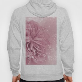 Light Pink Rose with hearts #1 #floral #art #society6 Hoody