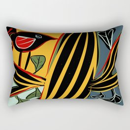Singing bird Rectangular Pillow