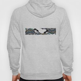 Ants on tablecloth  Hoody