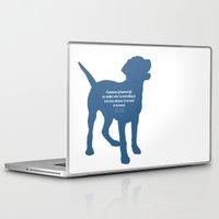 vonnegut Laptop & iPad Skins featuring The Purpose by StephyLouPavlik