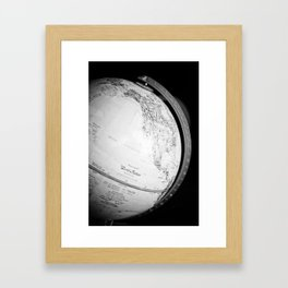 Globe  Framed Art Print