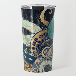 Metallic Octopus II Travel Mug