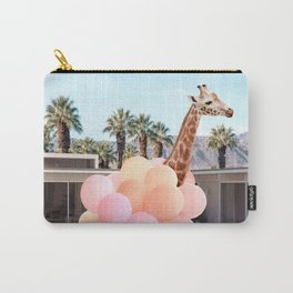 Giraffe Palm Springs Carry-All Pouch