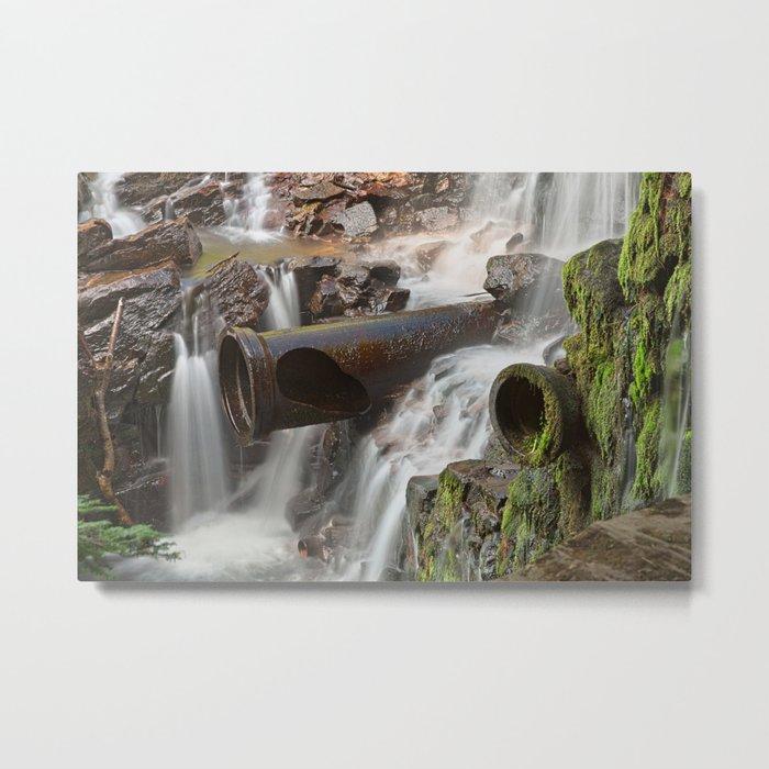 Dam Cannon Falls Metal Print