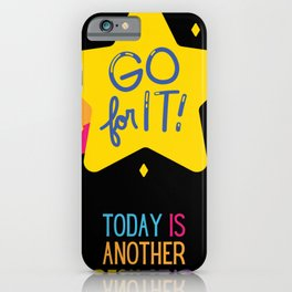 Inspirational Today Is Another Fresh Start iPhone Case