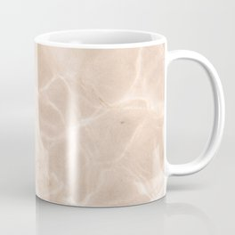 Coral Clear water | beach fine art photography | sea wave and sand Coffee Mug