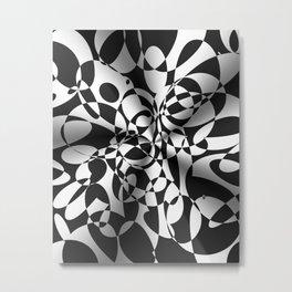 Op Art Boogaloo Metal Print